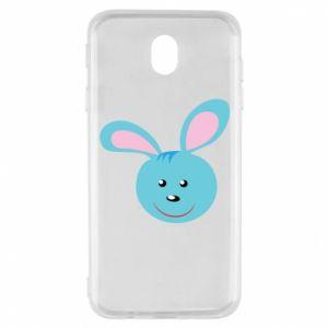 Etui na Samsung J7 2017 Morda niebieskiego króliczka