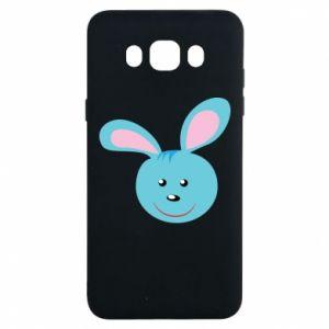 Etui na Samsung J7 2016 Morda niebieskiego króliczka