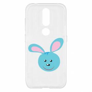 Etui na Nokia 4.2 Morda niebieskiego króliczka