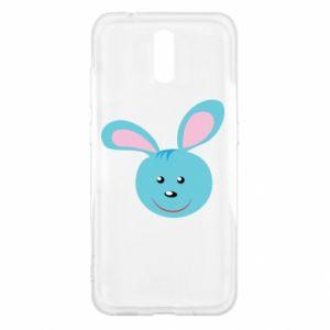 Etui na Nokia 2.3 Morda niebieskiego króliczka