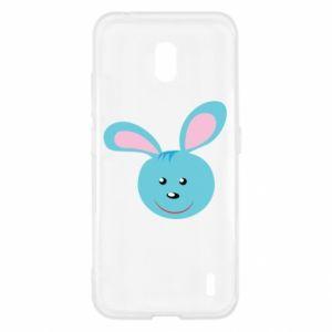 Etui na Nokia 2.2 Morda niebieskiego króliczka