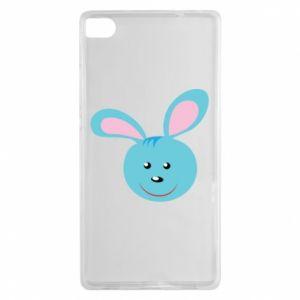 Etui na Huawei P8 Morda niebieskiego króliczka