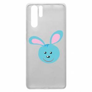 Etui na Huawei P30 Pro Morda niebieskiego króliczka