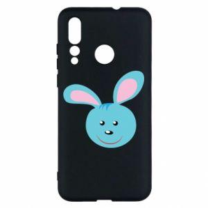 Etui na Huawei Nova 4 Morda niebieskiego króliczka