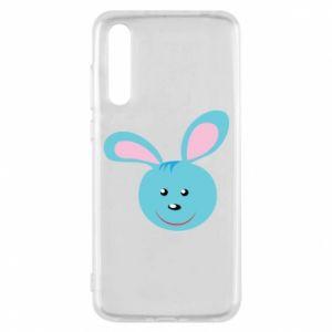 Etui na Huawei P20 Pro Morda niebieskiego króliczka
