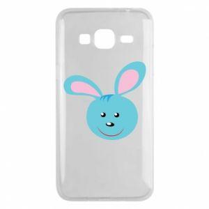 Etui na Samsung J3 2016 Morda niebieskiego króliczka