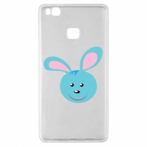 Etui na Huawei P9 Lite Morda niebieskiego króliczka