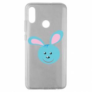 Etui na Huawei Honor 10 Lite Morda niebieskiego króliczka