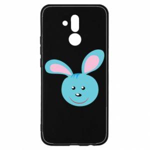 Etui na Huawei Mate 20 Lite Morda niebieskiego króliczka