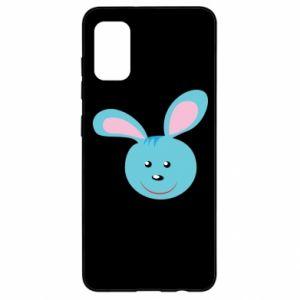 Etui na Samsung A41 Morda niebieskiego króliczka