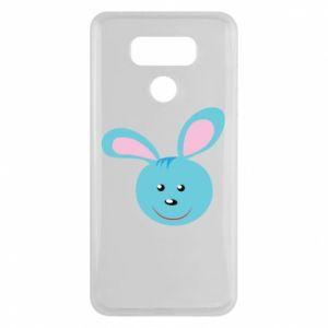 Etui na LG G6 Morda niebieskiego króliczka