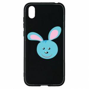 Etui na Huawei Y5 2019 Morda niebieskiego króliczka