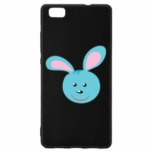Etui na Huawei P 8 Lite Morda niebieskiego króliczka