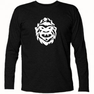 Koszulka z długim rękawem Morda potwora - PrintSalon