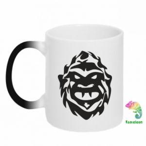 Chameleon mugs Muzzle monster