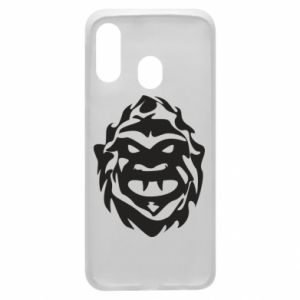 Phone case for Samsung A40 Muzzle monster