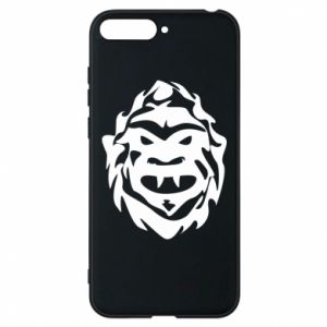 Phone case for Huawei Y6 2018 Muzzle monster