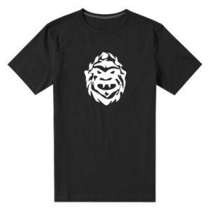 Męska premium koszulka Morda potwora - PrintSalon