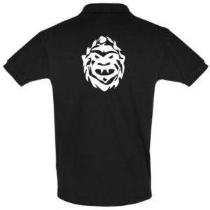 Koszulka Polo Morda potwora - PrintSalon