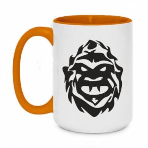 Two-toned mug 450ml Muzzle monster