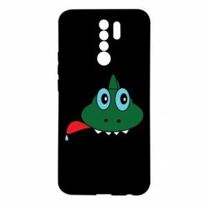 Etui na Xiaomi Redmi 9 Mordka jaszczurka