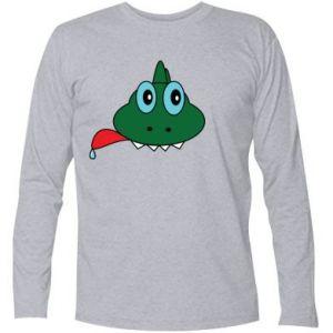 Long Sleeve T-shirt Muzzle lizard