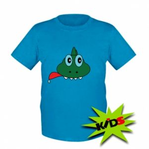 Kids T-shirt Muzzle lizard