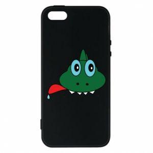 Phone case for iPhone 5/5S/SE Muzzle lizard