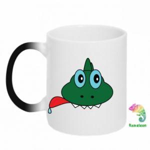 Chameleon mugs Muzzle lizard