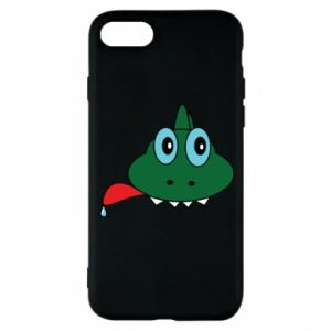 Phone case for iPhone 8 Muzzle lizard