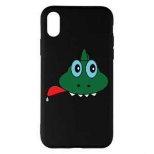 Phone case for iPhone X/Xs Muzzle lizard