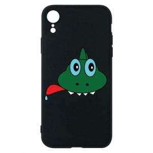 Phone case for iPhone XR Muzzle lizard