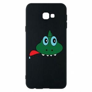 Phone case for Samsung J4 Plus 2018 Muzzle lizard