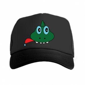 Trucker hat Muzzle lizard