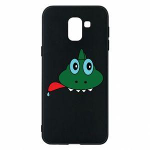 Phone case for Samsung J6 Muzzle lizard