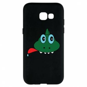 Phone case for Samsung A5 2017 Muzzle lizard