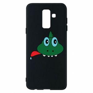 Phone case for Samsung A6+ 2018 Muzzle lizard