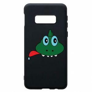 Phone case for Samsung S10e Muzzle lizard