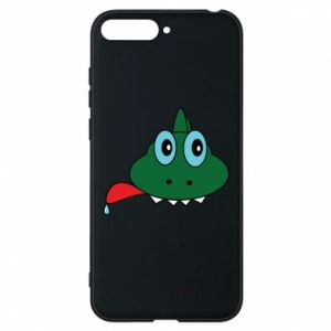 Phone case for Huawei Y6 2018 Muzzle lizard