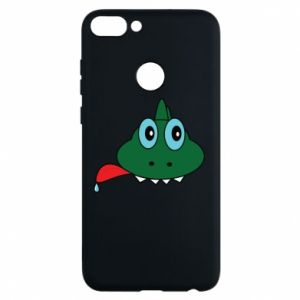 Phone case for Huawei P Smart Muzzle lizard