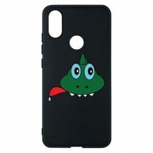 Phone case for Xiaomi Mi A2 Muzzle lizard