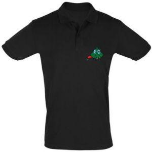 Men's Polo shirt Muzzle lizard