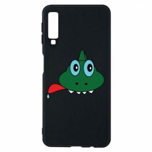 Phone case for Samsung A7 2018 Muzzle lizard