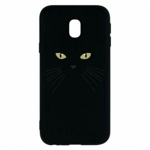 Samsung J3 2017 Case Muzzle Cat