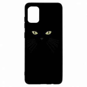 Samsung A31 Case Muzzle Cat