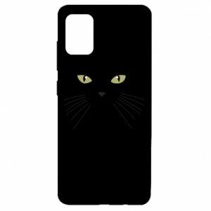 Samsung A51 Case Muzzle Cat
