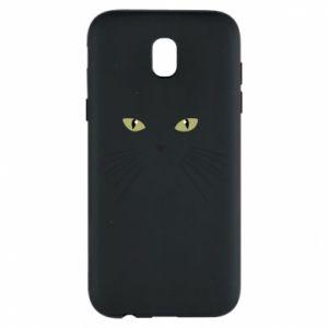 Samsung J5 2017 Case Muzzle Cat