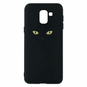Samsung J6 Case Muzzle Cat