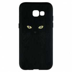Samsung A5 2017 Case Muzzle Cat