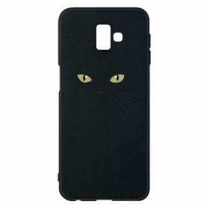 Samsung J6 Plus 2018 Case Muzzle Cat